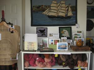 wool and patterns and all things hooked at Pastimes PEI